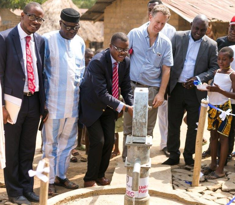 Guinness Borehole Donation